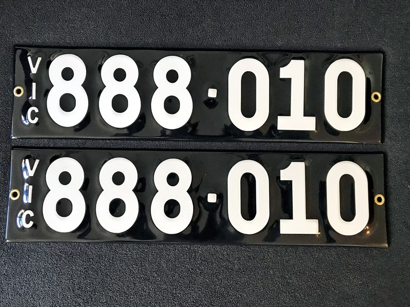 number plates 888010 672066 001