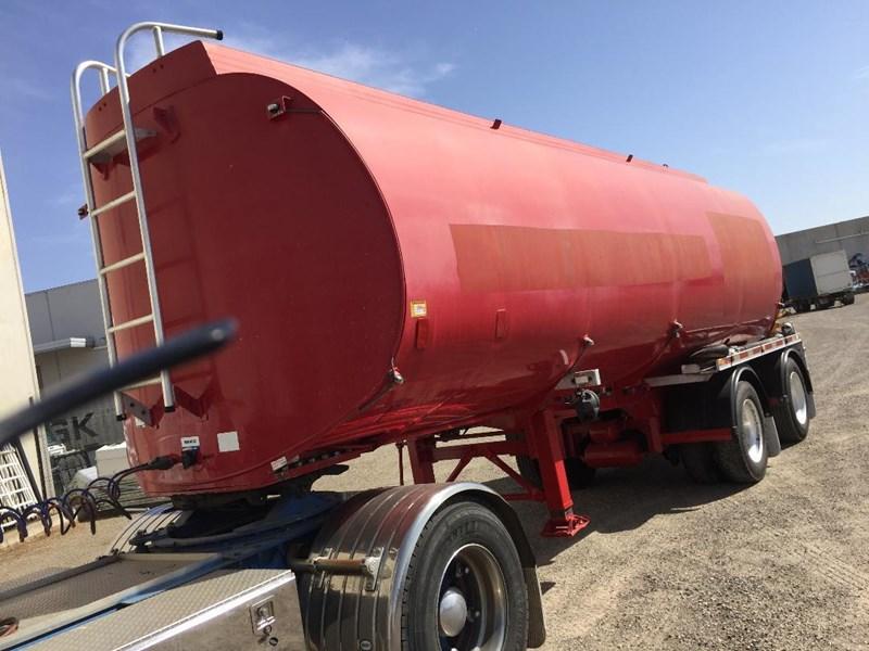 2003 Marshall Lethlean Aluminium B Water Tanker Semi Trailer For Sale