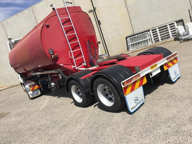 2003 Marshall Lethlean Aluminium A Water Tanker Semi Trailer For Sale