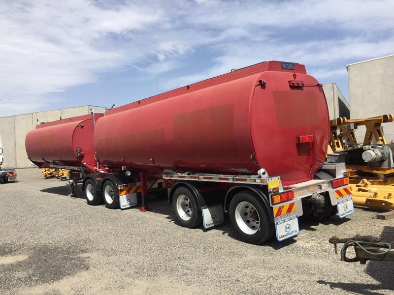 2003 Marshall Lethlean Aluminium Water Tandem A B Tanker Semi