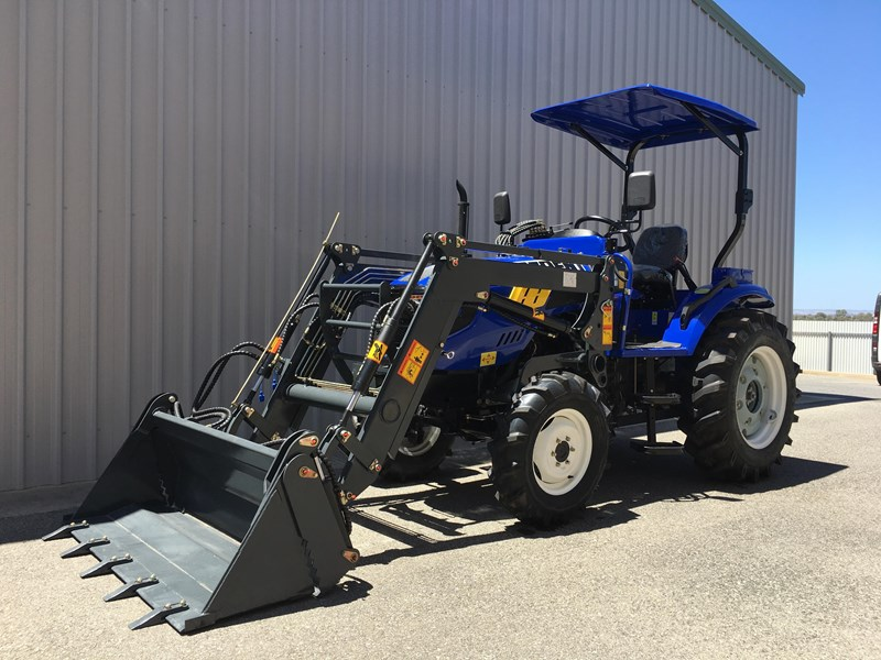 trident brand new 40hp tractor 4wd+fel+slasher shuttle shift 512366 034