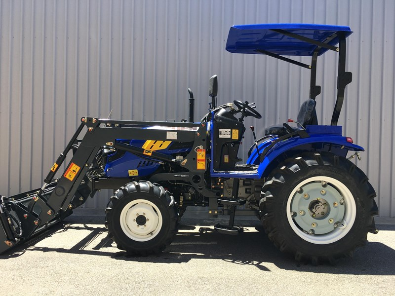 trident brand new 40hp tractor 4wd+fel+slasher shuttle shift 512366 035