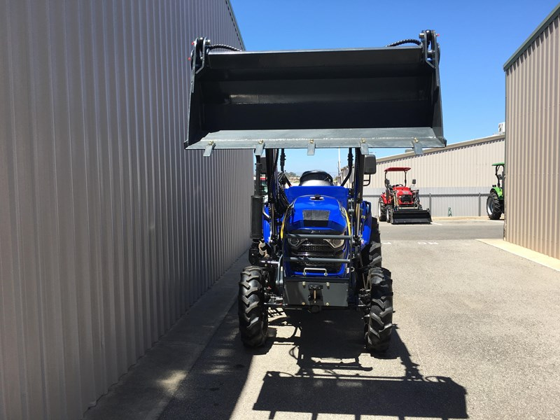 trident brand new 40hp tractor 4wd+fel+slasher shuttle shift 512366 032