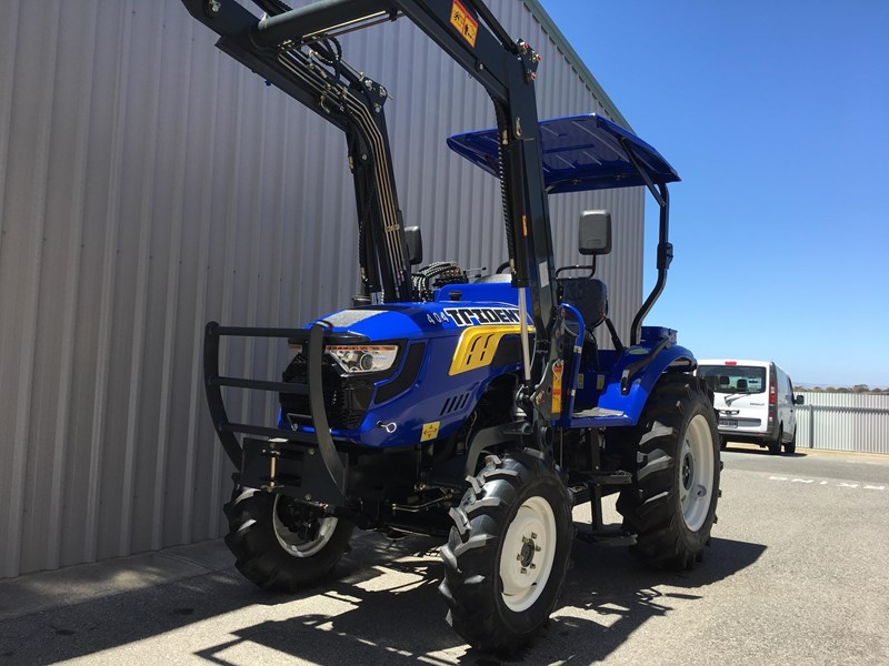 trident brand new 40hp tractor 4wd+fel+slasher shuttle shift 512366 033