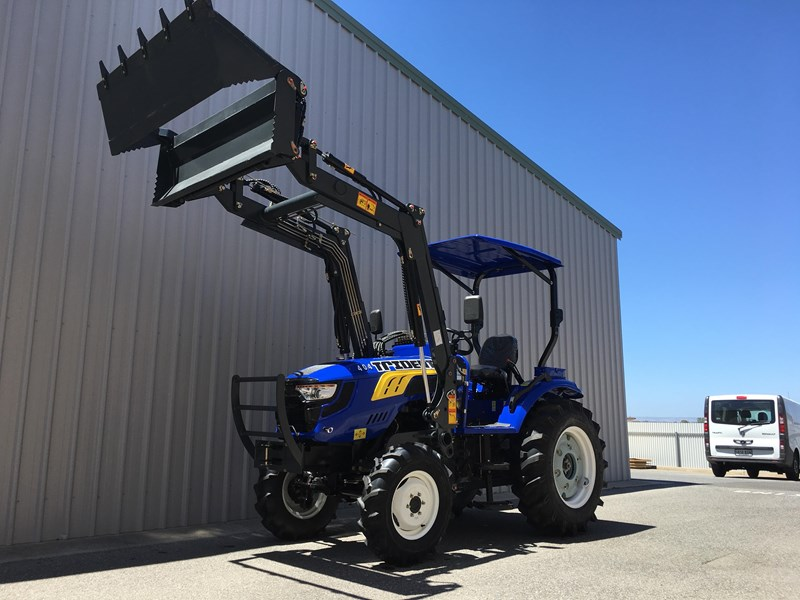 trident brand new 40hp tractor 4wd+fel+slasher shuttle shift 512366 086