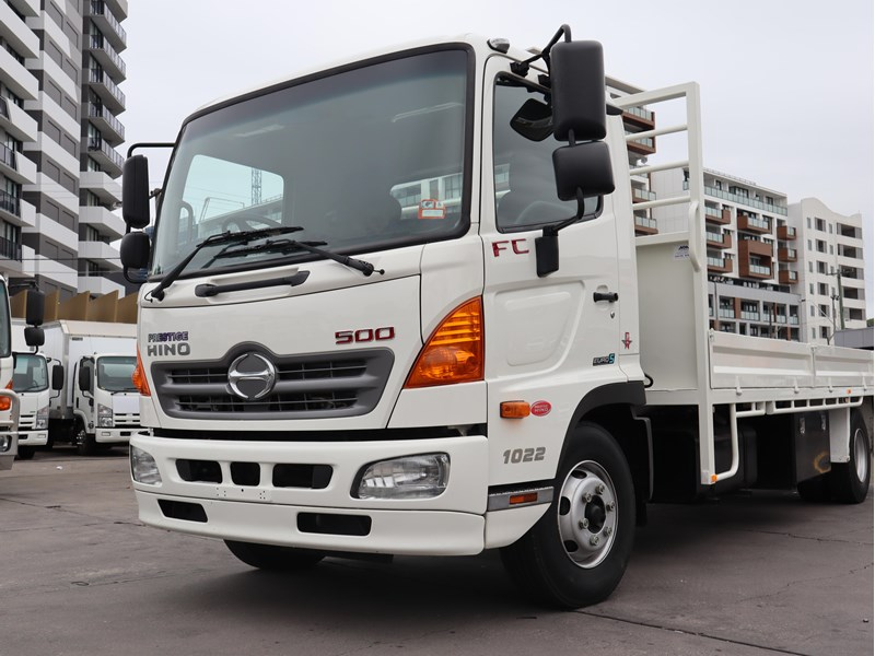 2016 Hino 500 Series Fc7j For Sale