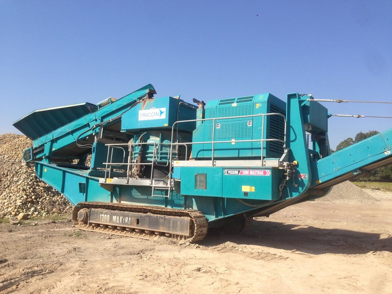 2011 POWERSCREEN 1000 MAXTRAK MOBILE CONE CRUSHER 52806 for sale