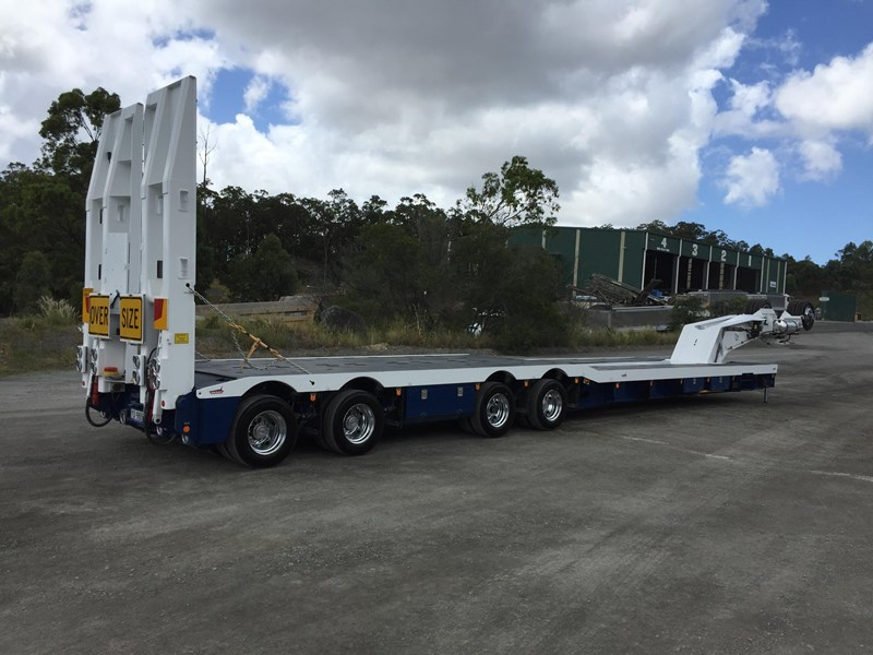 drake 4x8 swinging low loader 674684 002