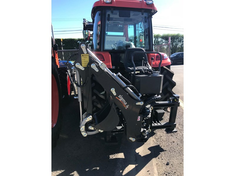 sigma 4 c 180 backhoe with side shift 664613 003