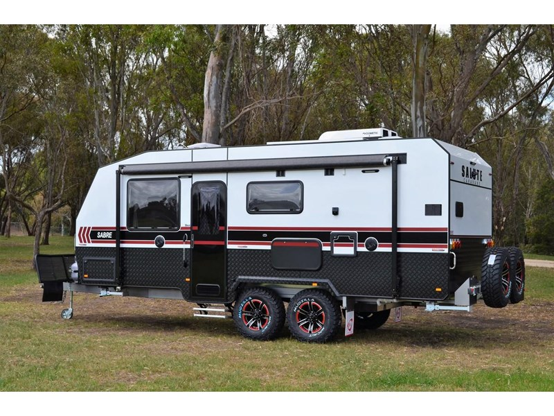 "other salute caravans sabre 20ft 6"" semi off road 676469 004"