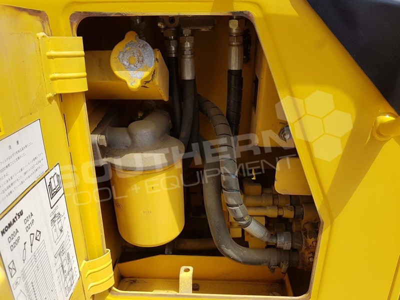 KOMATSU D21 D21A-8 dozer with Rippers for sale