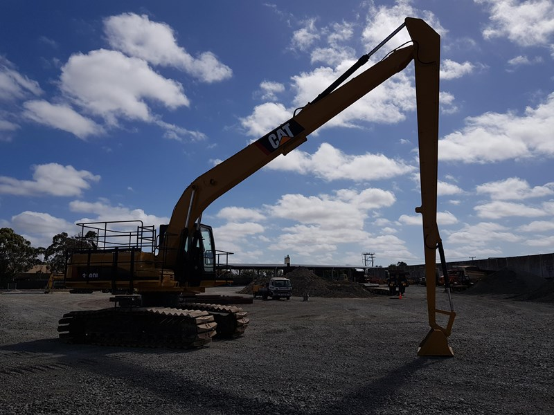 caterpillar 329dl long reach 573544 007