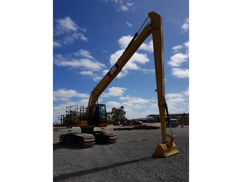 caterpillar 329dl long reach 573544 008