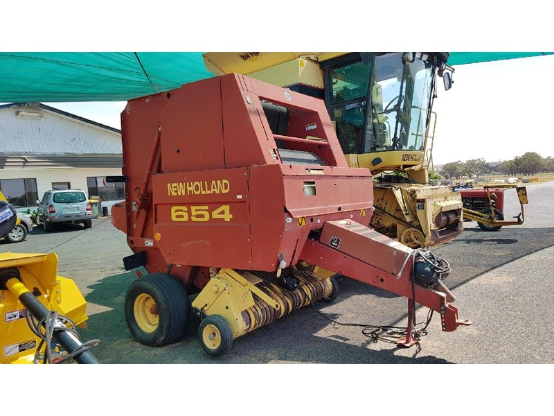new holland 654 round baler 688078 001