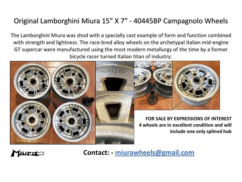 Lamborghini Miura For Sale