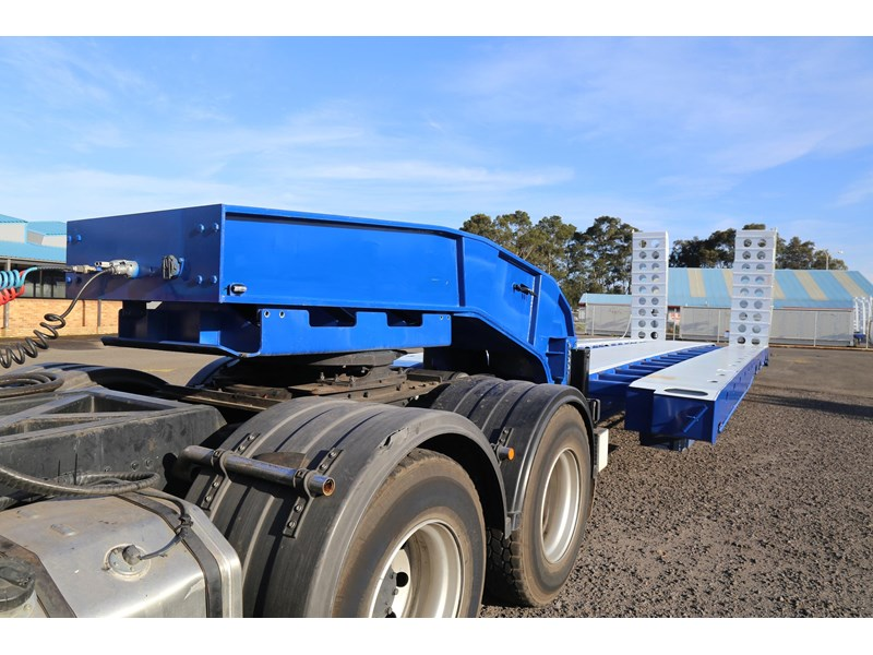 aaa quad axle low loader widener with bi-ford ramps 684540 004