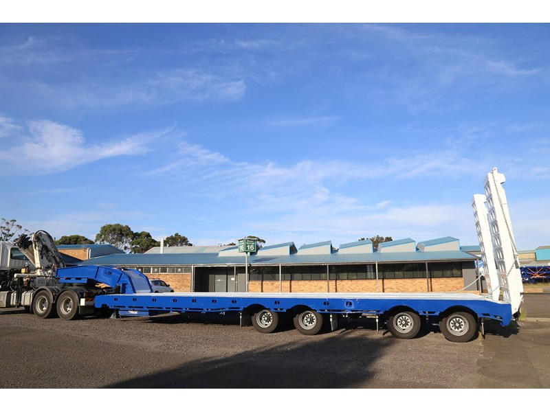 aaa quad axle low loader widener with bi-ford ramps 684540 006