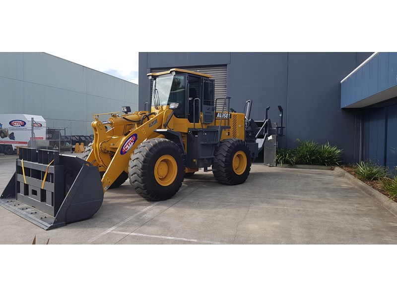active machinery al958e 19.5t, 'cat engine, 4spd electric trans, 3 yr warranty 588706 004