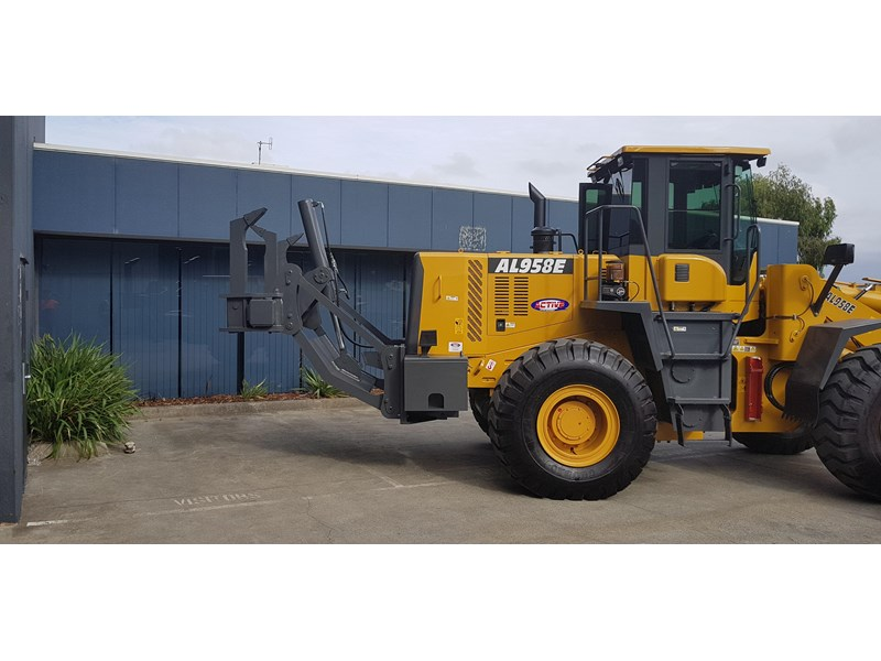 active machinery al958e 19.5t, 'cat engine, 4spd electric trans, 3 yr warranty 588706 005