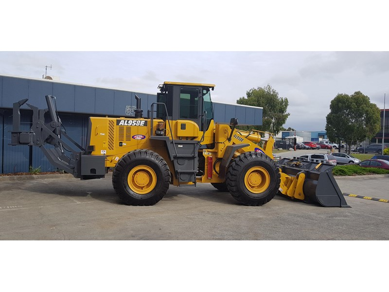 active machinery al958e 19.5t, 'cat engine, 4spd electric trans, 3 yr warranty 588706 006