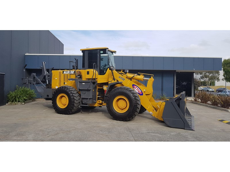active machinery al958e 19.5t, 'cat engine, 4spd electric trans, 3 yr warranty 588706 007