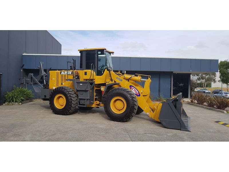 active machinery al958e 19.5t, 'cat engine, 4spd electric trans, 3 yr warranty 588706 008