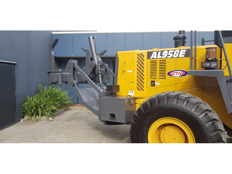 active machinery al958e 19.5t, 'cat engine, 4spd electric trans, 3 yr warranty 588706 009