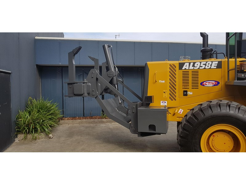 active machinery al958e 19.5t, 'cat engine, 4spd electric trans, 3 yr warranty 588706 010