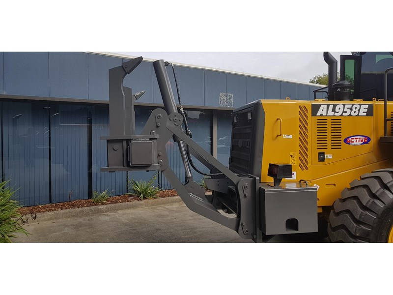 active machinery al958e 19.5t, 'cat engine, 4spd electric trans, 3 yr warranty 588706 012