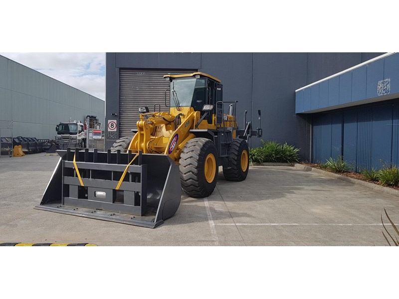 active machinery al958e 19.5t, 'cat engine, 4spd electric trans, 3 yr warranty 588706 018