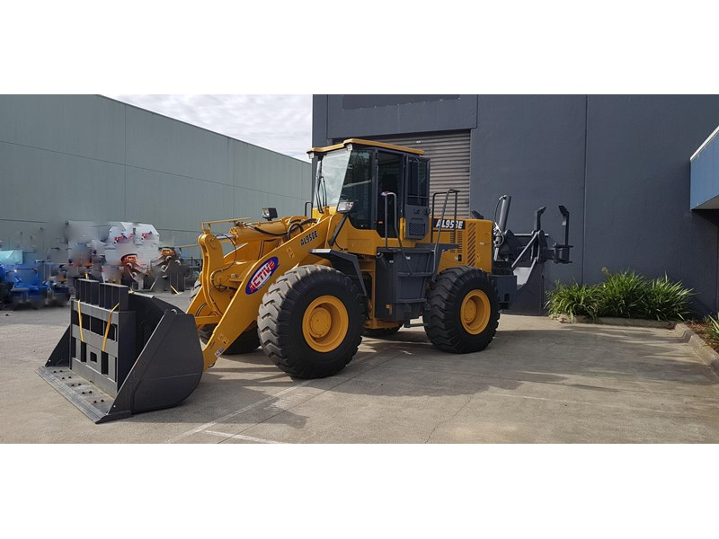 active machinery al958e 19.5t, 'cat engine, 4spd electric trans, 3 yr warranty 588706 020