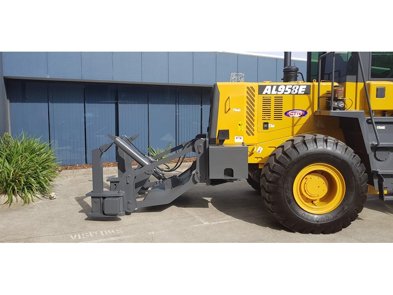 active machinery al958e 19.5t, 'cat engine, 4spd electric trans, 3 yr warranty 588706 024