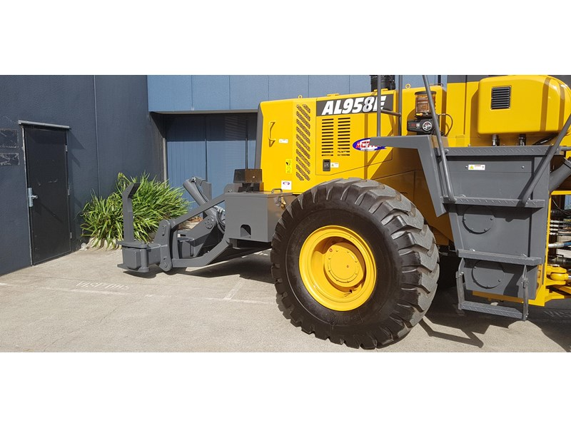 active machinery al958e 19.5t, 'cat engine, 4spd electric trans, 3 yr warranty 588706 027