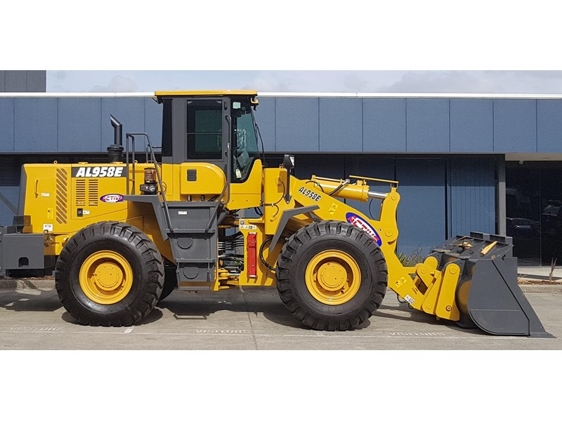 active machinery al958e 19.5t, 'cat engine, 4spd electric trans, 3 yr warranty 588706 003