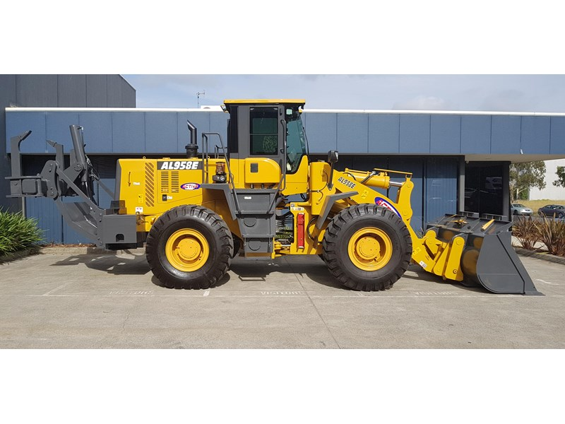 active machinery al958e 19.5t, 'cat engine, 4spd electric trans, 3 yr warranty 588706 034