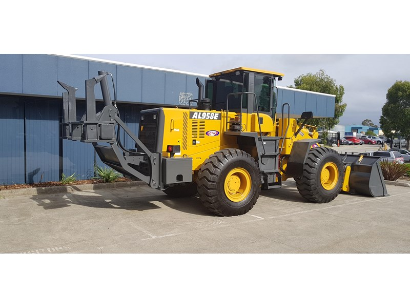 active machinery al958e 19.5t, 'cat engine, 4spd electric trans, 3 yr warranty 588706 035