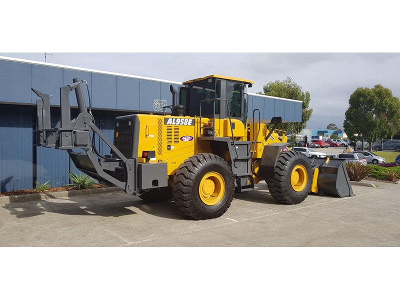 active machinery al958e 19.5t, 'cat engine, 4spd electric trans, 3 yr warranty 588706 036