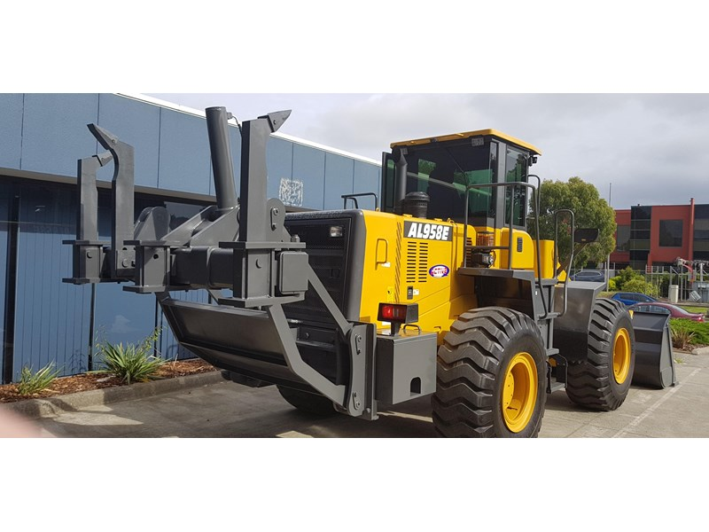 active machinery al958e 19.5t, 'cat engine, 4spd electric trans, 3 yr warranty 588706 038