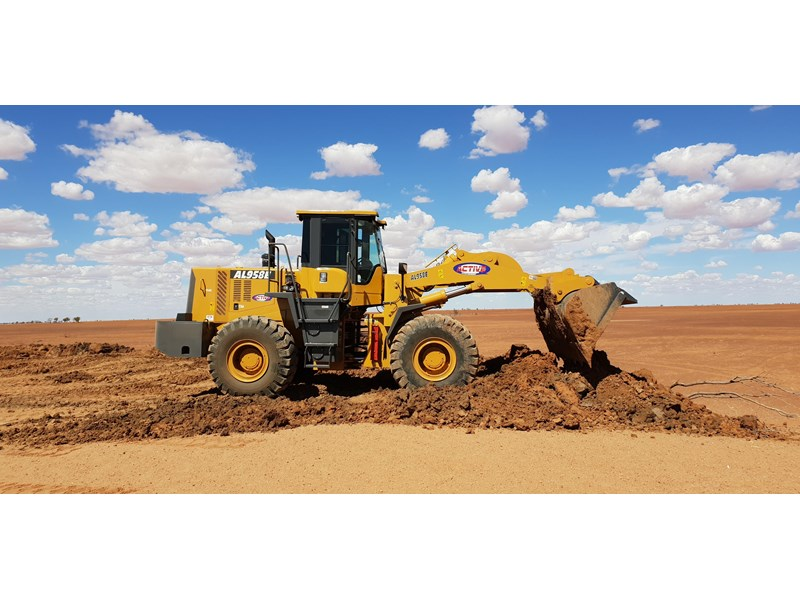 active machinery al958e 19.5t, 'cat engine, 4spd electric trans, 3 yr warranty 588706 001