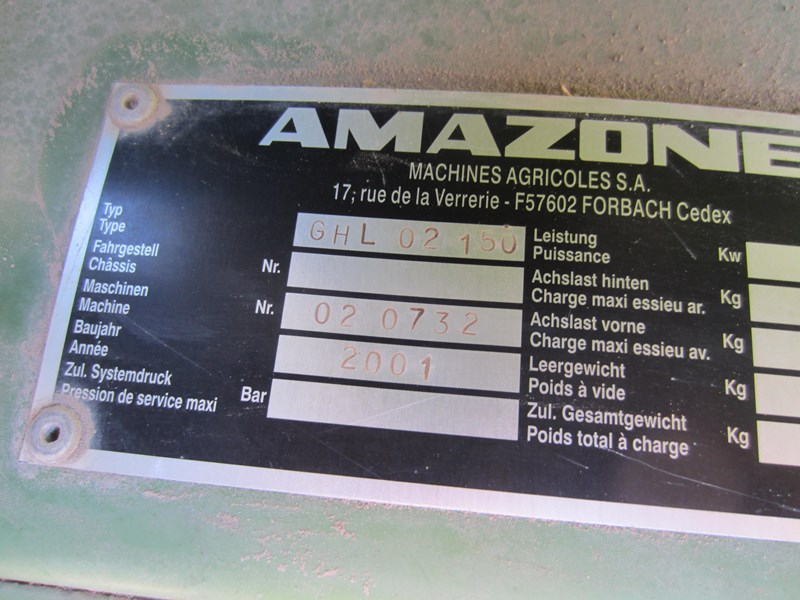 amazone ke 253 - 170 power harrow 684904 010