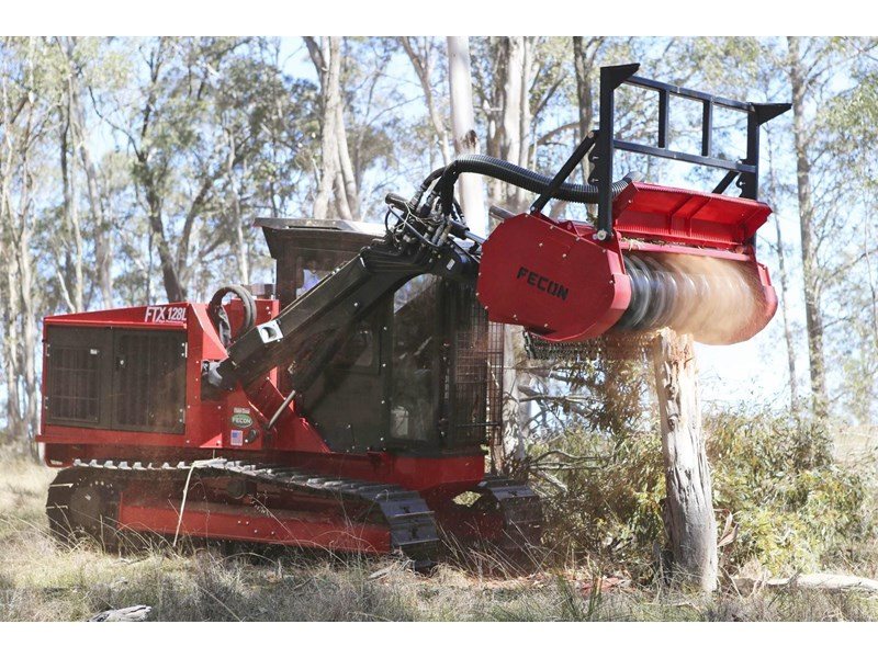 Forestry Mulcher For Sale >> 2018 Fecon Ftx128l Forestry Tractor Mulcher For Sale