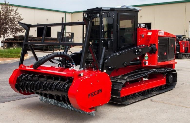 2018 FECON FTX128L Forestry Tractor Mulcher for sale