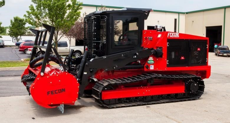 2018 FECON FTX128L Forestry Tractor Mulcher for sale or hire