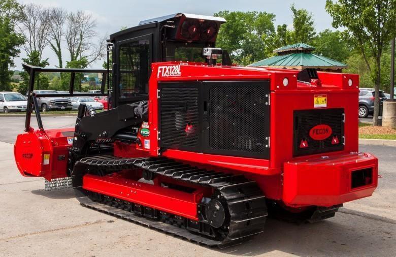 2018 FECON FTX128L Forestry Tractor Mulcher for sale