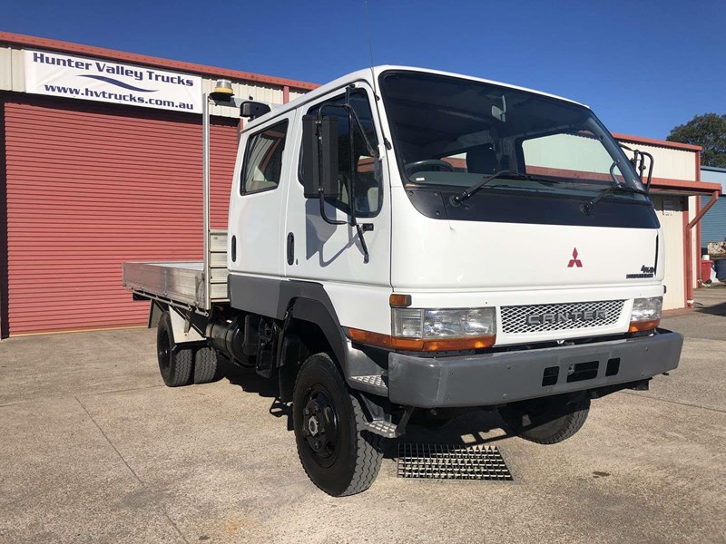 2004 FUSO CANTER FG 4X4 CREW CAB for sale