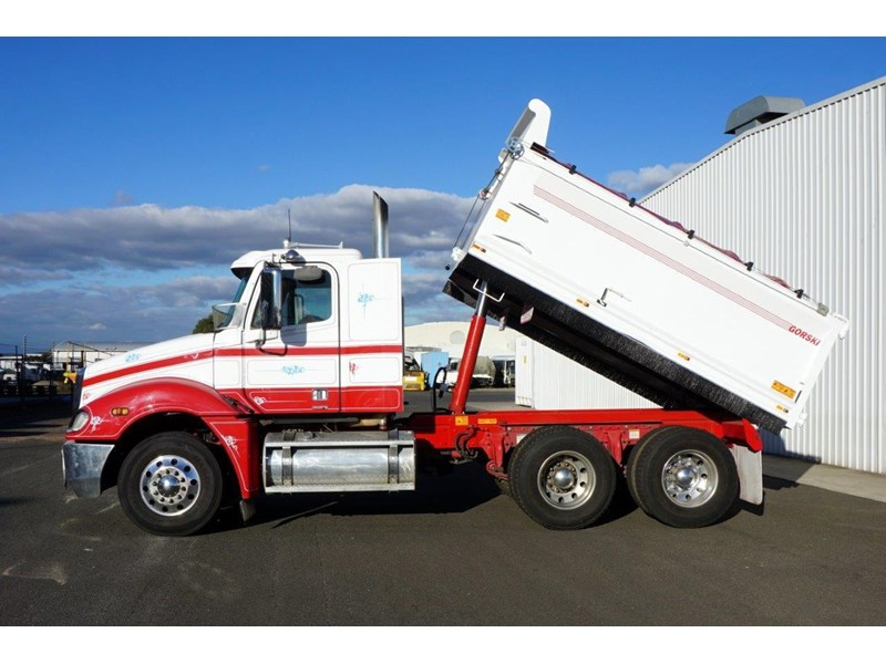 2008 FREIGHTLINER COLUMBIA Automatic Steel Tipper for sale