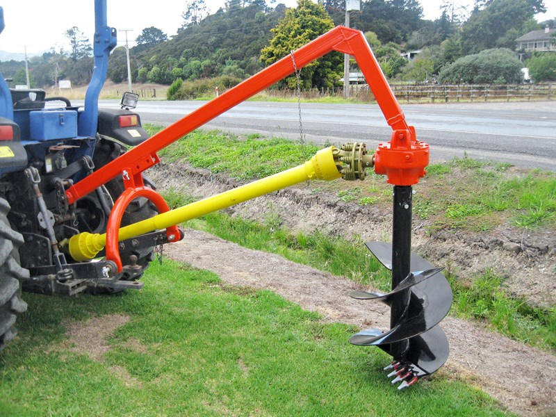 "eurofarm post hole borer with 20"" auger 254249 001"