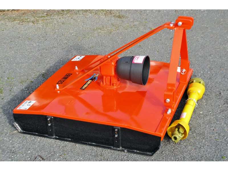 eurofarm erm125 rotary mower/topper/slasher 34340 001