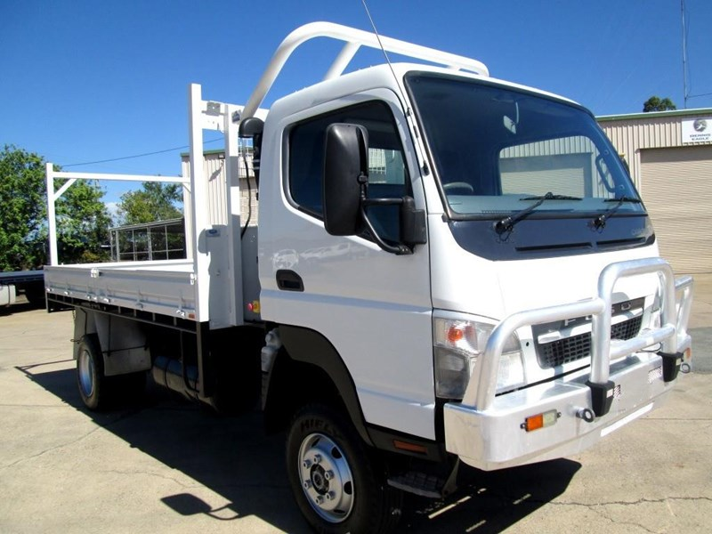 2010 FUSO CANTER 4X4 FG84 Fuso for sale