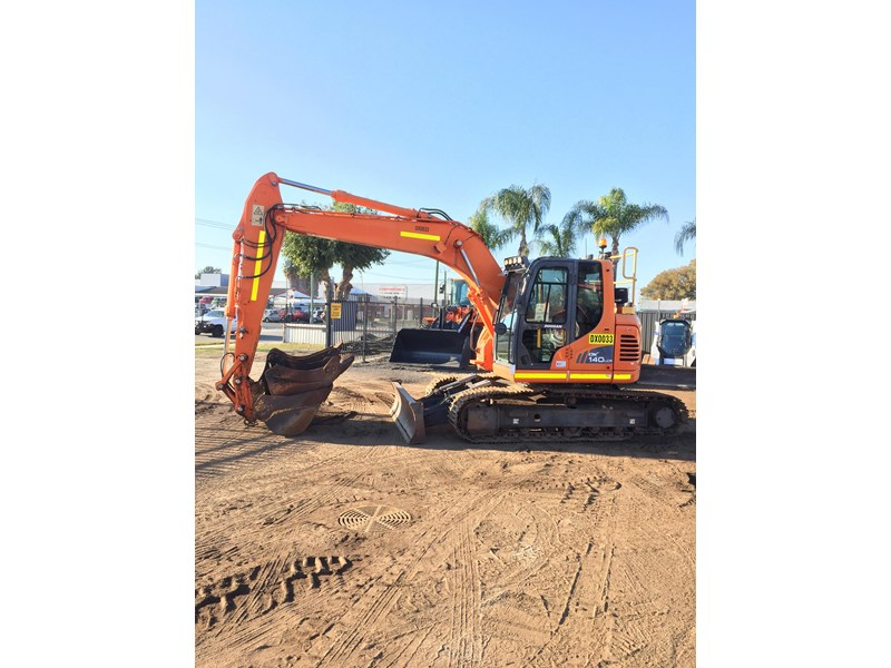 doosan dx140lcr - excellent condition - low hours! 703003 001